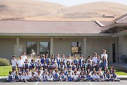 Monarch Christian Academy school poses for a portrait at Monarch Christian Academy in Milpitas, California, on September 12, 2014. (Stan Olszewski/SOSKIphoto)