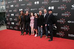 Edinburgh International Film Festival, Friday 30th June 2017<br /> <br /> ACCESS ALL AREAS (WORLD PREMIERE)<br /> <br /> The cast and crew together<br /> <br /> (c) Alex Todd | Edinburgh Elite media