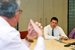 Pictured: Jamie Hepburn<br /> <br /> Minister for Employability and Training Jamie Hepburn visited Cortex Worldwide in Edinburgh today as he commented on the latest Labour Market Statistics and Modern Apprenticeship figures.<br /> Cortex Worldwide is a leading cloud based solutions company based in Edinburgh which employs a number of Modern and Graduate Apprentices. <br /> <br /> <br /> Ger Harley | EEm 12 June 2018