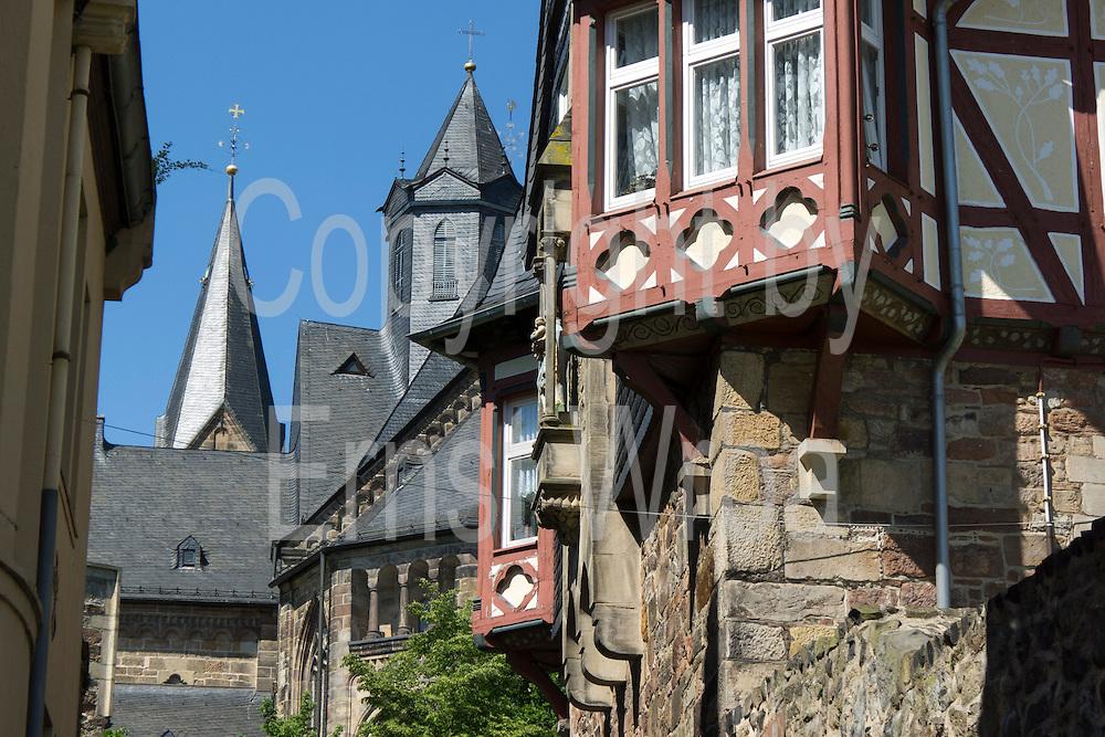 Altstadt, Fritzlar, Nordhessen, Hessen, Deutschland   old town, Fritzlar, Hesse, Germany