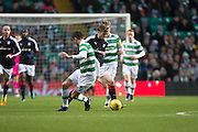 Dundee's Craig Wighton goes past Celtic's Nir Bitton - Celtic v Dundee in the Ladbrokes Scottish Premiership at Celtic Park, Glasgow. Photo: David Young<br /> <br />  - © David Young - www.davidyoungphoto.co.uk - email: davidyoungphoto@gmail.com