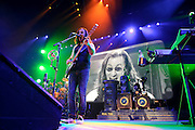 Photos of Canadian prog-rock band Rush performing on the Time Machine Tour at Madison Square Garden, NYC. April 10, 2011. Copyright © 2011 Matthew Eisman. All Rights Reserved.
