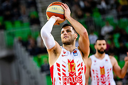 Billy Baron of KK Crvena Zvezda MTS during ABA basketball league round 9 match between teams KK Cedevita Olimpija and KK Crvena Zvezda MTS in Arena Stozice, 1. December, 2019, Ljubljana, Slovenia. Photo by Grega Valancic / Sportida