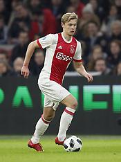 Ajax Amsterdam V Borussia Mönchengladbach - 21 Nov 2017