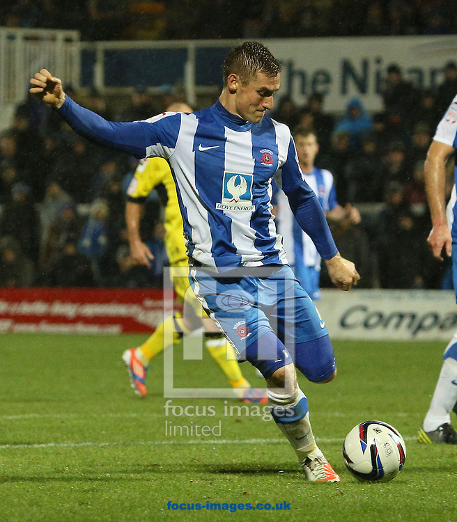 Picture by Paul Gaythorpe/Focus Images Ltd +447771 871632.07/11/2012.Neil Austin of Hartlepool United during the npower League 1 match at Victoria Park, Hartlepool.