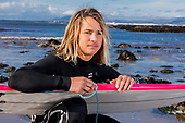 Surfer Ben Larg