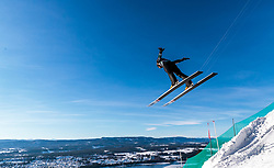 18.03.2018, Vikersundbakken, Vikersund, NOR, FIS Weltcup Ski Sprung, Raw Air, Vikersund, Finale, im Bild Ryoyu Kobayashi (JPN) // Ryoyu Kobayashi of Japan during the 4th Stage of the Raw Air Series of FIS Ski Jumping World Cup at the Vikersundbakken in Vikersund, Norway on 2018/03/18. EXPA Pictures © 2018, PhotoCredit: EXPA/ JFK