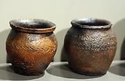Pottery vessels Ceramic.