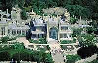 Aerial view - Around yalta - Old Palace - Crimea - Ukraine