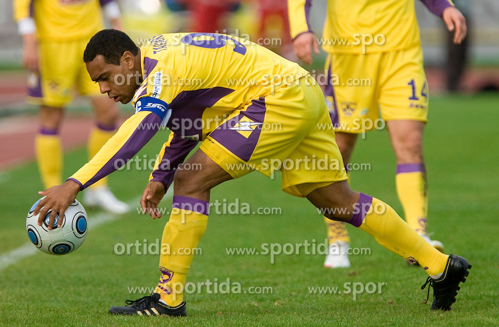Marcos Tavares of Maribor at 13th Round of Prva Liga football match between NK Olimpija and Maribor, on October 17, 2009, in ZAK Stadium, Ljubljana. Maribor won 1:0. (Photo by Vid Ponikvar / Sportida)