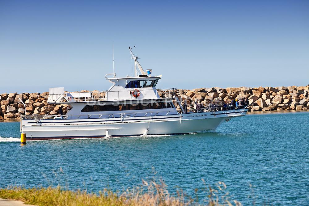 Sea Explorer Cruising In The Dana Point Harbor