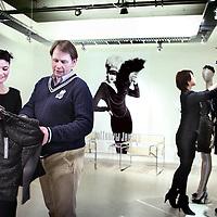 Nederland, Amsterdam , 21 februari 2011..Barbara de Bruijn en Peter 't Veen van het modemerk Juffrouw Jansen..Foto:Jean-Pierre Jans