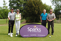 TEAM LADY & THE TRAMPS, Celebrity Keith, Hanvey, Sparks Leon Haslam Golf Day Wellingborough Golf Course Tuesday 7th June 2016