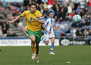 Huddersfield - Saturday, March 13th, 2010: Grant Holt of Norwich City in action against Huddersfield Town during the Coca Cola League One match at the Galpharm Stadium, Huddersfield. (Pic by Michael Sedgwick/Focus Images)