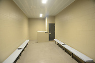 An interior of one of the inmate intake units is seen during a tour through the newest prison in Pennsylvania Friday, September 01, 2017 at State Correction Institution Phoenix in Skippack, Pennsylvania. The facility is inching closer to opening, two years late, to replace Graterford Prison at a cost of $400 million. (Photo by William Thomas Cain/CAIN IMAGES)