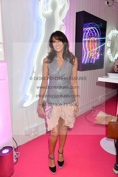 JACKIE ST.CLAIR at Light Up Your Life - a party hosted by Lillingston held at Lights of Soho, 35 Brewer Street, London on 1st October 2015.