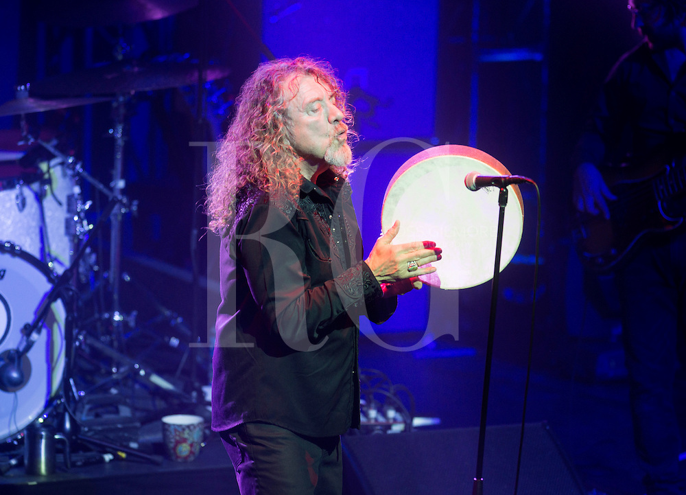 Robert Plant performs on stage at O2 Academy on November 15, 2014 in Glasgow, United Kingdom. Photo by Ross Gilmore