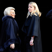 Koninklijke familie bij uitreiking Prins Claus Prijs in het Paleis op de Dam, Amsterdam. ///// Royal family attending the Prince Claus Award ceremony in the Royal Palace, Amsterdam.<br />
