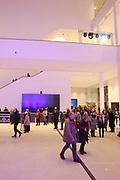 Mannheim. 15.12.17 |<br /> Kunsthalle. Neubau. Nachtaufnahmen von Aussen mit der Mesh-Fassade. Eröffnung<br /> <br /> Bild-ID 047 | Markus Proßwitz 15DEC17 / masterpress