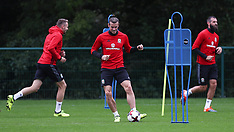 Wales Training Session - 29 Aug 2017