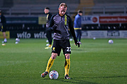 Liam Boyce warms up before the EFL Sky Bet League 1 match between Burton Albion and Southend United at the Pirelli Stadium, Burton upon Trent, England on 3 December 2019.