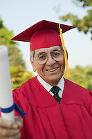 Senior Graduate with Diploma