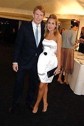 PATRICK KIELTY and OLIVIA CHRISTEAU at the Berkeley Square End of Summer Ball in aid of the Prince's Trust held in Berkeley Square, London on 27th September 2007.<br />