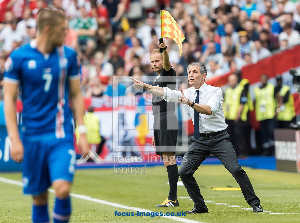 Manager Marcel Koller of Austria during the UEFA Euro 2016 match at Stade Velodrome, Marseille, France.<br /> Picture by EXPA Pictures/Focus Images Ltd 07814482222<br /> 22/06/2016<br /> *** UK &amp; IRELAND ONLY ***<br /> EXPA-FEI-160622-5023.jpg