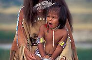 Young boy, Lakota, South Dakota, USA