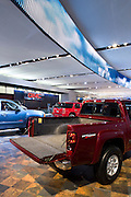The General Motors exhibit at the North American International Auto Show Monday, January 8, 2007 in Detroit, Michigan.