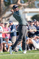 January 27, 2019 - San Diego, CA, U.S. - SAN DIEGO, CA - JANUARY 27: Adam Scott during the final round of the Farmers Insurance Open at Torrey Pines Golf Club on January 27, 2019 in San Diego, California. (Photo by Alan Smith/Icon Sportswire) (Credit Image: © Alan Smith/Icon SMI via ZUMA Press)