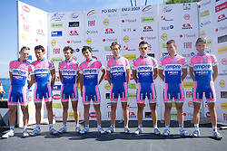 Team Lampre - NGC at 1st stage of Tour de Slovenie 2009 from Koper (SLO) to Villach (AUT),  229 km, on June 18 2009, in Koper, Slovenia. (Photo by Vid Ponikvar / Sportida)