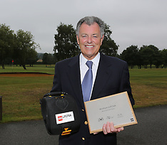 JUL 11 2014 Bernard Gallacher at Wrotham Heath Golf Course
