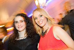 Isabela Kovacic and Sanja Modric at Slovenian Sports personality of the year 2014 annual awards presented on the base of Slovenian sports reporters, on December 9, 2014 in Cankarjev dom, Ljubljana, Slovenia. Photo by Vid Ponikvar / Sportida