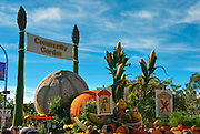 Community Garden, Float,  Rose Parade; 2010, Pasadena; CA, Tournament of Roses, LA California; Los Angeles High dynamic range imaging (HDRI or HDR)