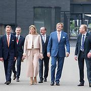 LUX/Luxembug/2 Maxima0180524 - Staatbezoek Luxemburg 2018 dag 2, aankomst Willem-Alexander en Maxima, Erfgroothertog Henri en Erfgroothertogin Maria Teresa