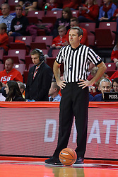26 November 2016:  Jeb Hartness during an NCAA  mens basketball game between the Ferris State Bulldogs the Illinois State Redbirds in a non-conference game at Redbird Arena, Normal IL