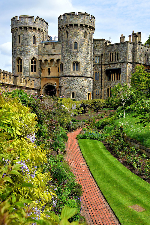 Queen Mary&rsquo;s Doll House at Windsor Castle in Windsor, England<br />