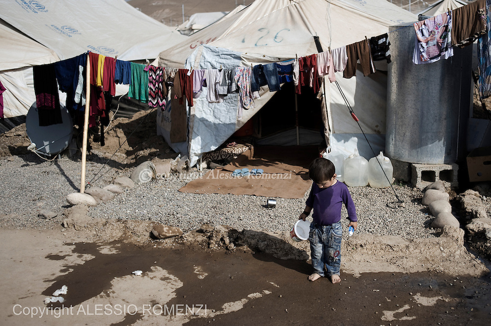 Iraqi Kurdistan, refugee camp. . ALESSIO ROMENZI