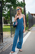 Denim Jumpsuit, Brooklyn Summer 2017