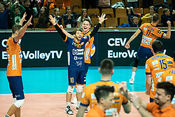 Dagostino Kyle Patric of ACH Volley during volleyball match between ACH Volley Ljubljana (SLO) and Kuzbas Kemerevo (RUS) n 2nd Round, group B of 2019 CEV Volleyball Champions League, on December 11, 2019 in Hala Tivoli, Ljubljana, Slovenia. Grega Valancic / Sportida