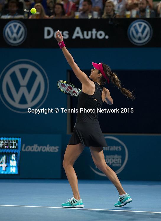Ana Ivanovic (SRB)<br /> <br />  - Brisbane International 2015 - ATP 250 - WTA -  Queensland Tennis Centre - Brisbane - Queensland - Australia  - 10 January 2015. <br /> &copy; Tennis Photo Network