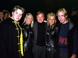 Left to right, MR GEORGE BAMFORD, LADY BAMFORD, SIR ANTHONY BAMFORD, MISS ALICE BAMFORD and MR JOE BAMFORD, members of the JCB diggers family, at a party in London on 21st October 1999.MYB 67