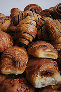 Rugelach (Yiddish: ??????, pronounced /'ru:g?l?x/) (other spellings: rugelakh, rugulach, rugalach, ruggalach, rogelach (all plural), rugalah, rugala (singular)) is a Jewish pastry of Ashkenazic origin.