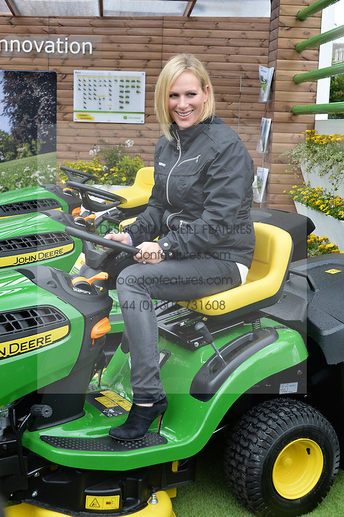ZARA TINDALL  at the 2015 RHS Chelsea Flower Show at the Royal Hospital Chelsea, London on 18th May 2015.
