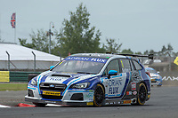 #1 Ashley Sutton Adrian Flux BMR Subaru Racing Subaru Levorg GT during BTCC Practice  of the 2018 British Touring Car Championship at Croft, Dalton On Tees, North Yorkshire, United Kingdom. June 23 2018. World Copyright Peter Taylor/PSP.