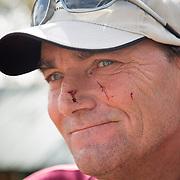 Don Campbell at the loft of John Marles in Spring Hill, Fl., on Friday, November 22, 2013. Photo by David Stephenson