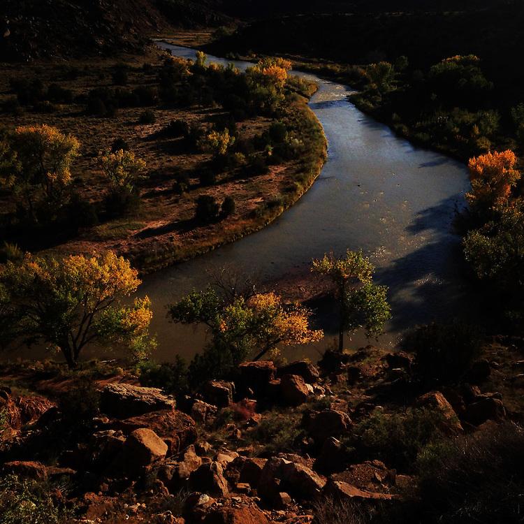 Rio Chama. Abiquiu, New Mexico.