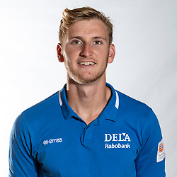 02-07-2018 NED: EC Beach teams Netherlands, The Hague<br /> Jasper Bouter NED