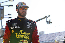 September 14, 2018 - Las Vegas, Nevada, United States of America - Martin Truex, Jr (78) hangs out on pit road before qualifying for the South Point 400 at Las Vegas Motor Speedway in Las Vegas, Nevada. (Credit Image: © Chris Owens Asp Inc/ASP via ZUMA Wire)